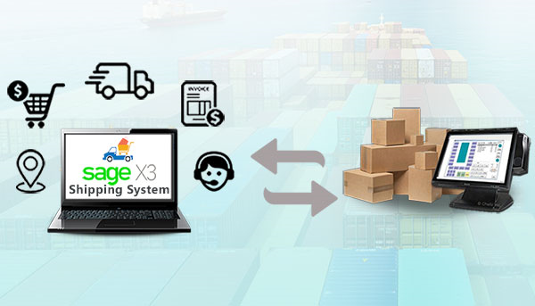 sage x3 shipping system