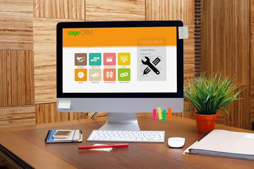 sage crm self service themes and customization