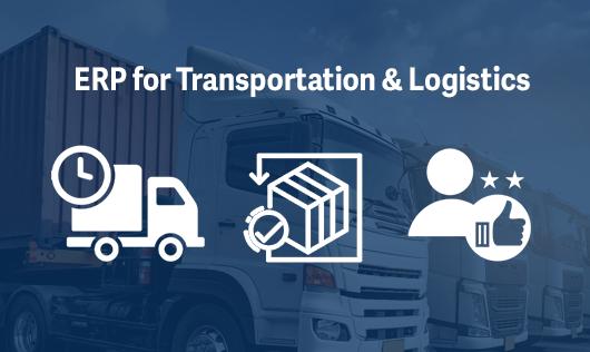 sage x3 transportation and logistics