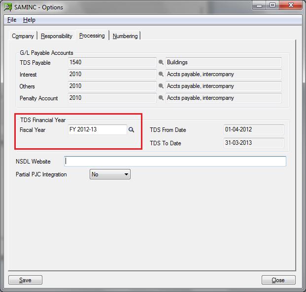 TDS Screen popup blank for TDS Vendor – Sage 300 ERP – Tips
