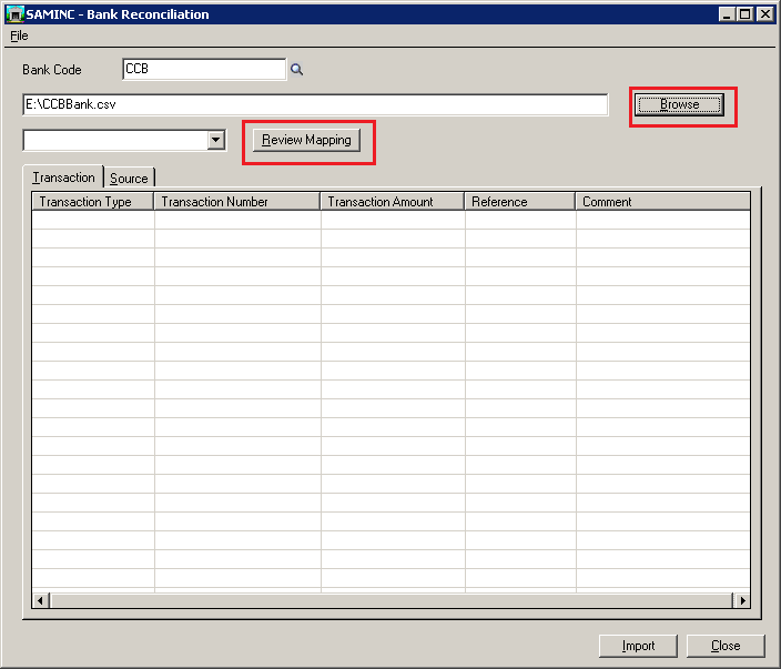 Working of Auto Bank Reconciliation in Sage 300 ERP – Bank Statement Reconciliation Form
