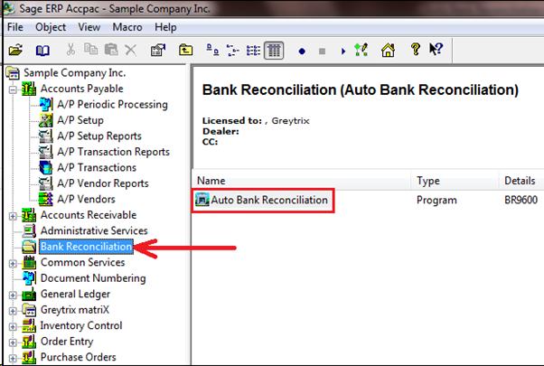 auto bank reconciliation in sage 300 erp sage 300 erp tips rh greytrix com sage 300 cre training manual sage 300 cre training manual