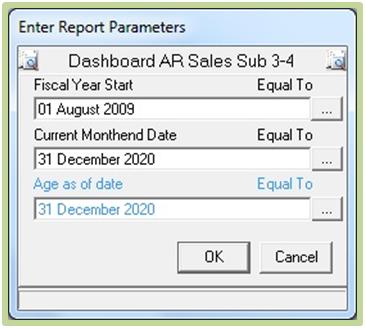 Enter Report Parameters