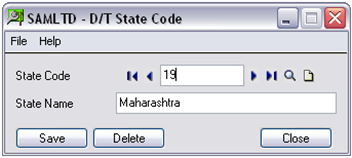 DT State Code