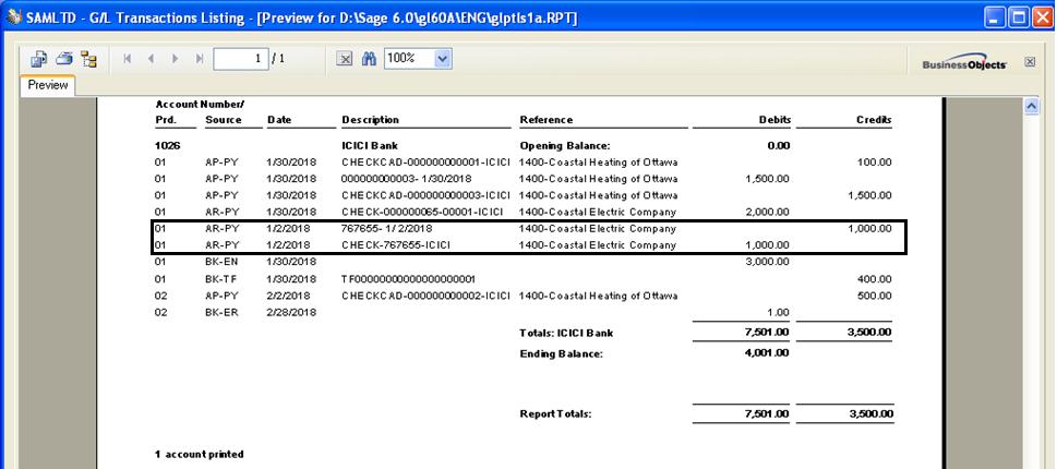 reverse transactions receipt reversal transaction in sage 300 erp