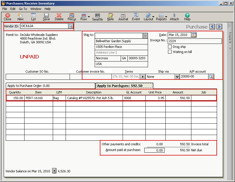 Migrate Purchase Invoice From Sage  Us To Sage  Erp  Sage