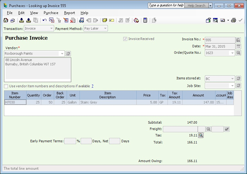 Migrate Purchase Invoice From Sage  Cad To Sage  Erp  Sage