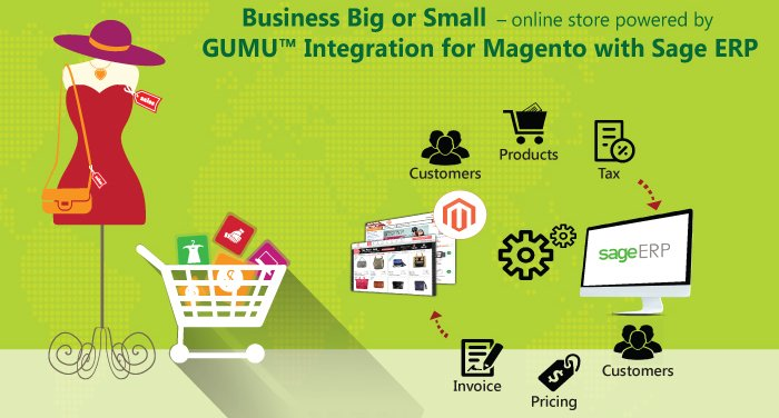 magento integration with sage erp