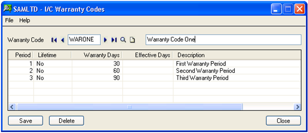 warranty tracking in sage 300 erp sage 300 erp tips tricks and
