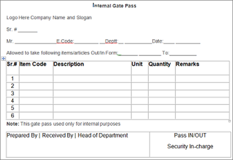 Gate Pass System In Sage 300 Erp Inventory Tracking Made