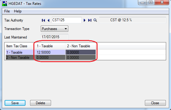 Tax Configuration in Sage 300 – Sage 300 ERP – Tips, Tricks and