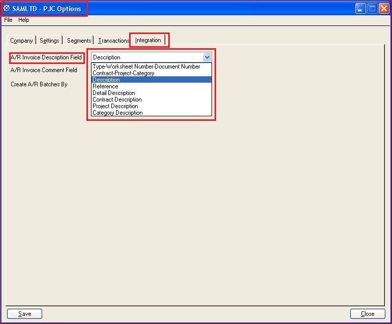 Printable Worksheets sage example worksheets : Sage 300 PJC – Option to default AR Invoice Description Field ...