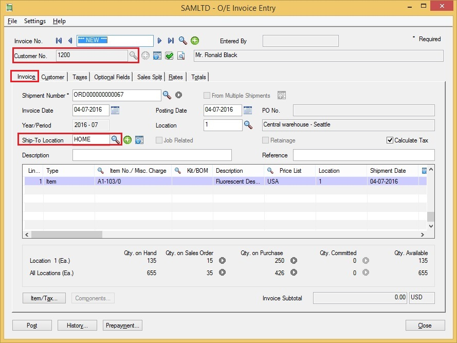 Using The Fob Point In Sage 300 Erp Sage 300 Erp Tips
