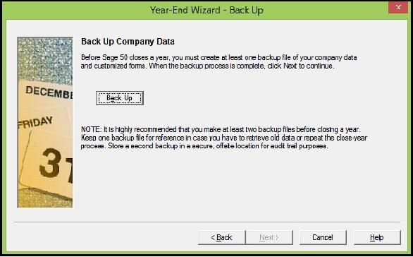 Back Up Company data