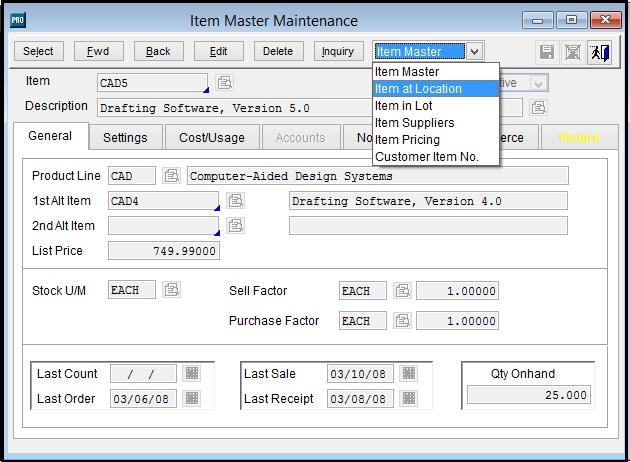 Migrate Item Location form Sage Pro to Sage 300 ERP – Sage 300 ERP ...