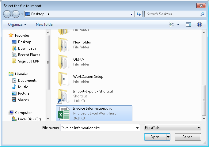Select screen in system window