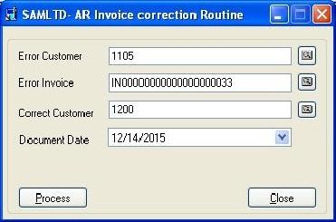 InvoiceCorrection