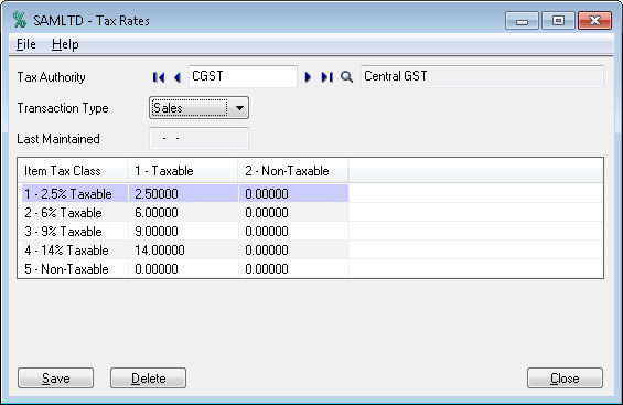Configuration of GST makes easy by GST module in sage 300 ERP-2