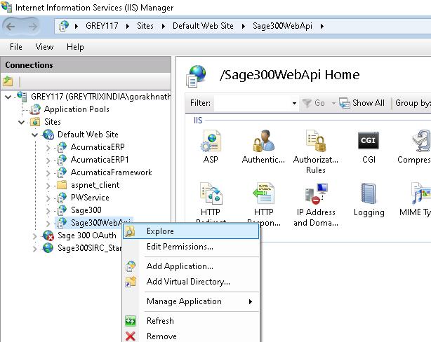 Sage 300 web api home
