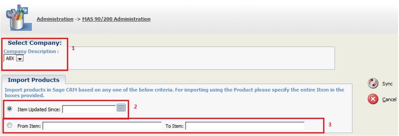 Import Product in Sage CRM using GUMU Integration – Sage CRM – Tips