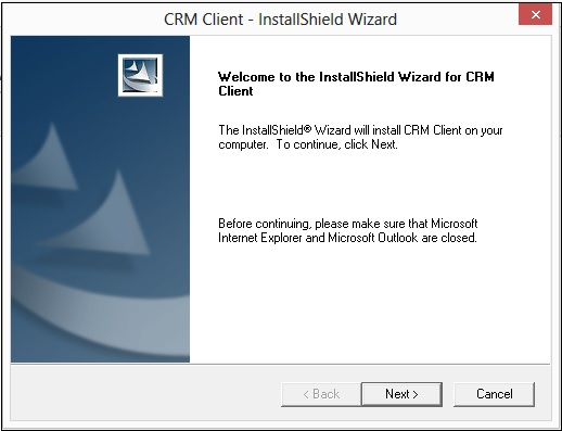 Installation wizard