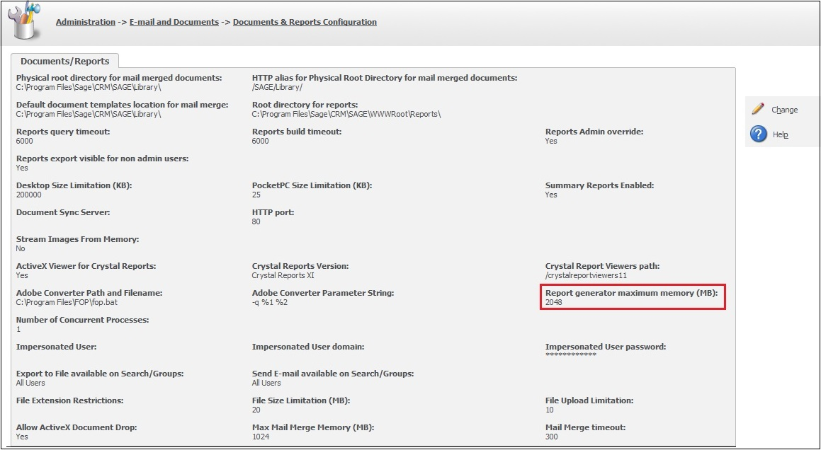 Error exporting reports to excel in CRM part 3 – Sage CRM – Tips