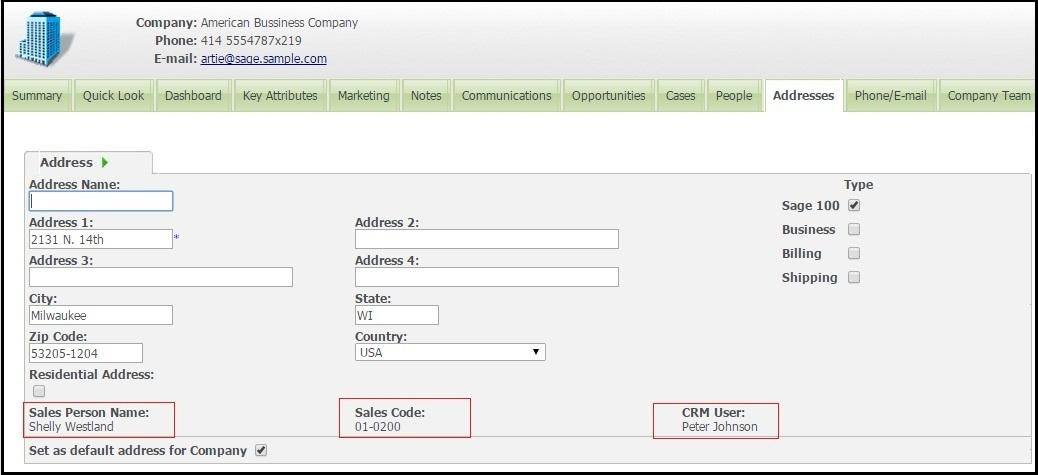 Map single Sage CRM User with multiple Sage 100 Salespersons ... on address home, address email, address locator, address search, address numbers, address letter, address art,