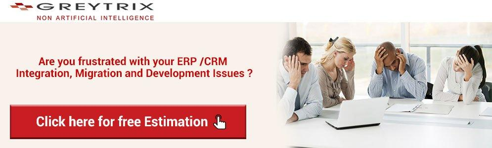 frustrated with your ERP CRM