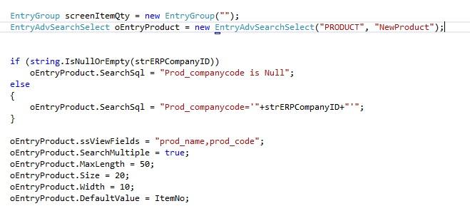 SSA Field Code