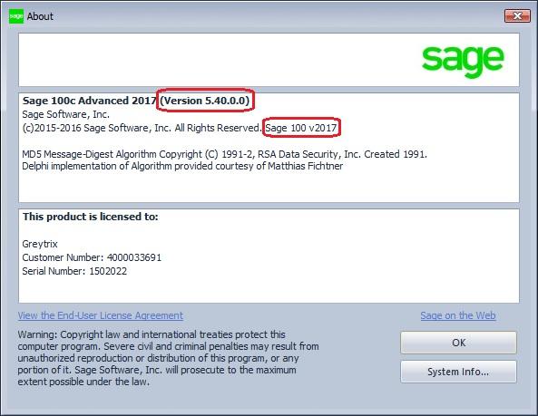 Sage100v2017
