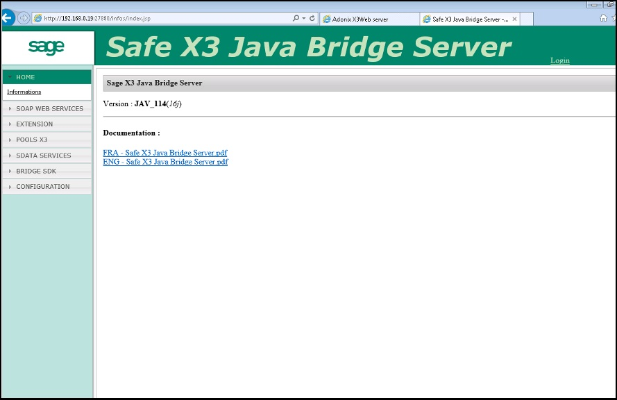 How to Verify if Java ODBC Bridge server is installed on