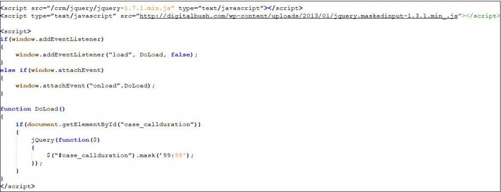 Javascript Code snippet 1