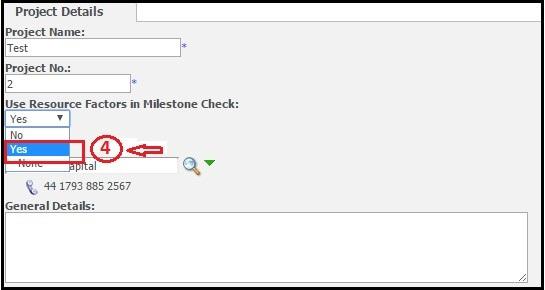 Use Resource Factors in milestone Check