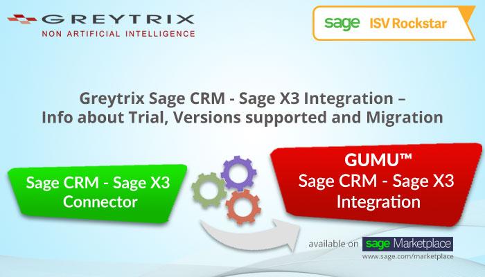 greytrix sage crm sage x3 integration