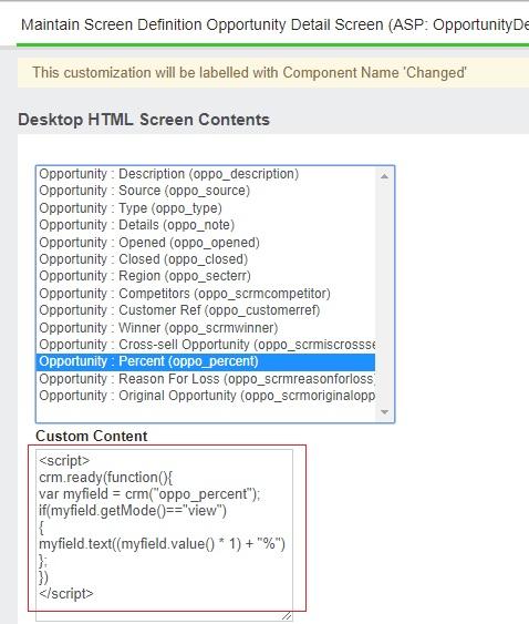 Custom Content Script