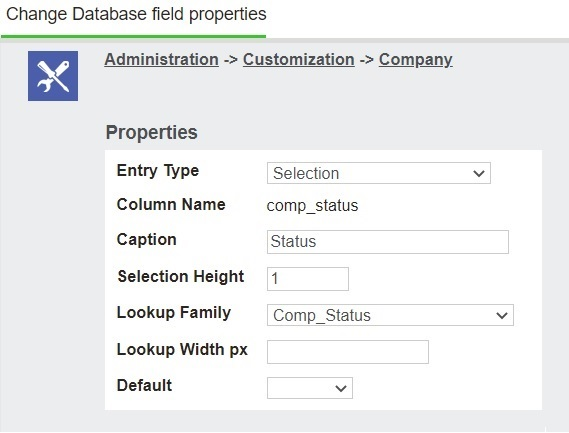 No Provision given to exclude Selection Field From Quick Find