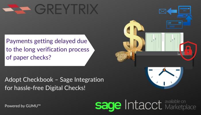 checkbook sage intacct webinar