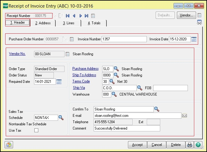 Migrate Purchase Invoice From Quickbooks To Sage  Erp  Sage