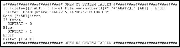 Opening Sage Erp X3 System Tables Sage Enterprise Management
