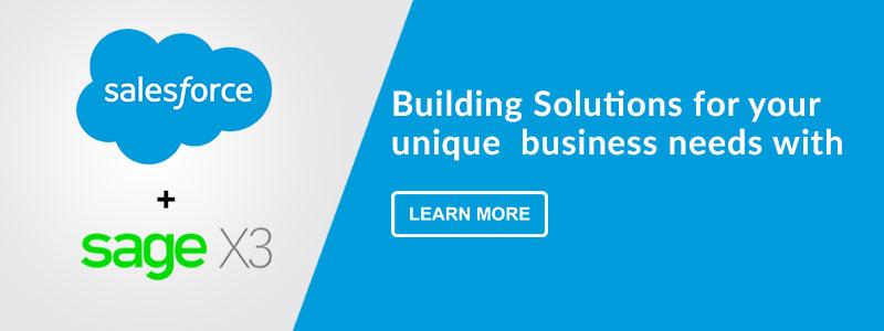 GUMU™ for Salesforce - Sage X3 Integration