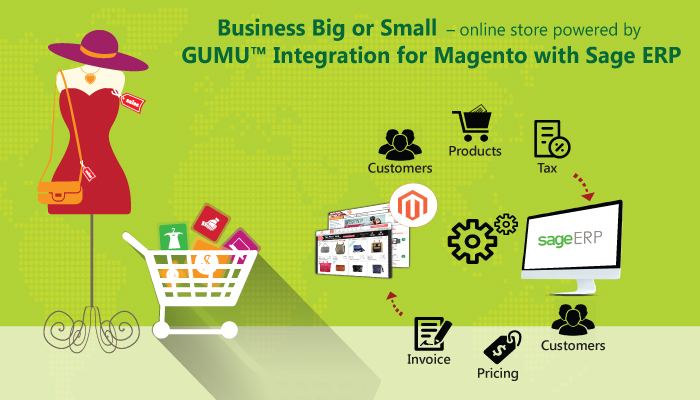 magento with sage erp