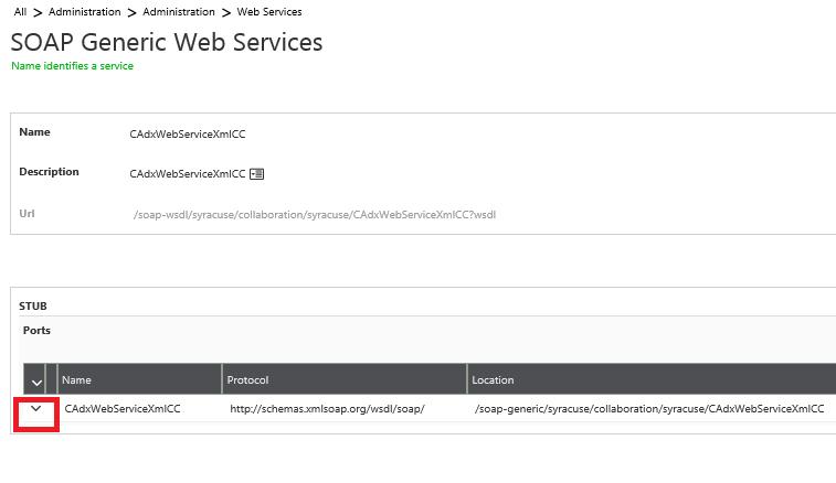 Web Service in Sage X3 v9