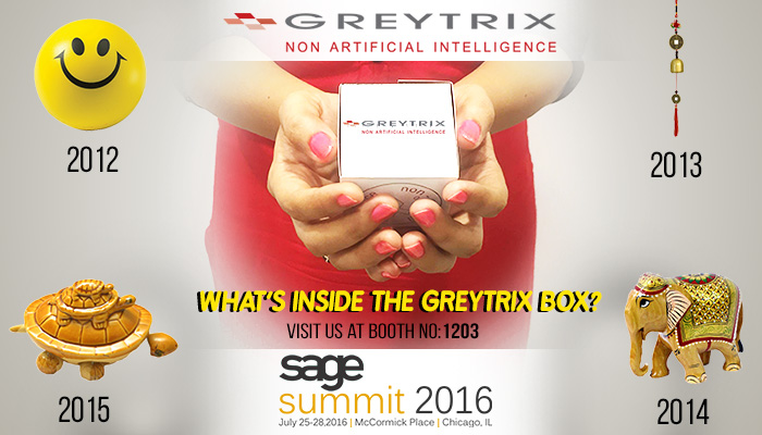 Sage Summit 2016, Booth Gift Number 1203