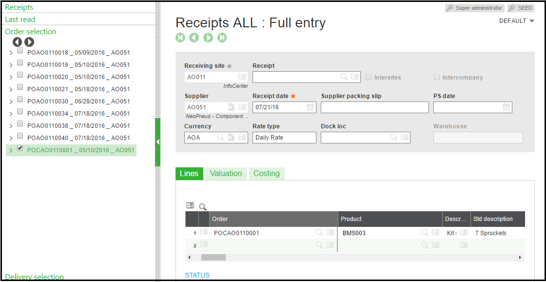How To Create Contract Purchase Order In Sage X3 Sage