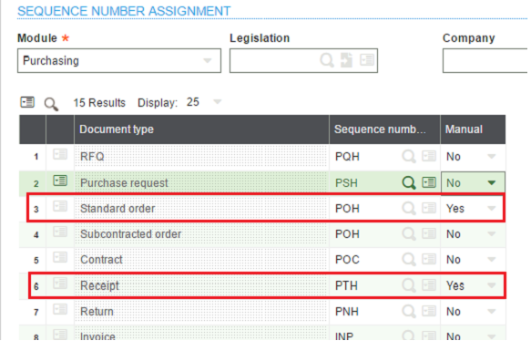 How To Create Manual Transaction Number For Purchase Order