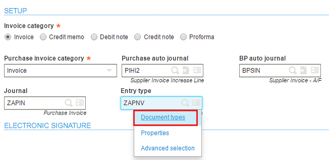 How To Make Invoice Number Field Editable For Any Invoice Sage X - Types of invoice