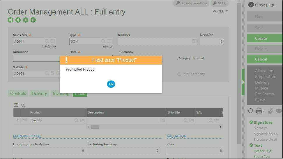 pricelist order management