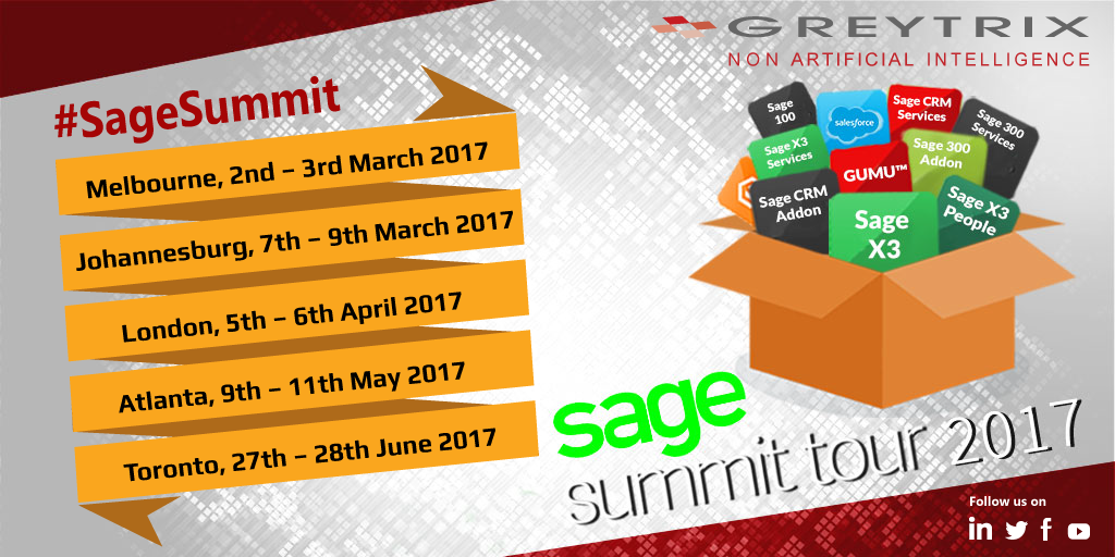 sage summit tour 2017