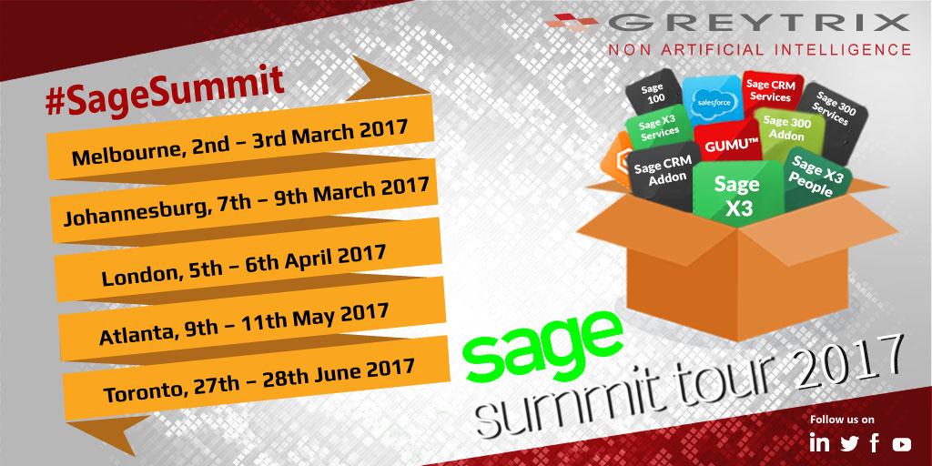 sage summit tour 2017