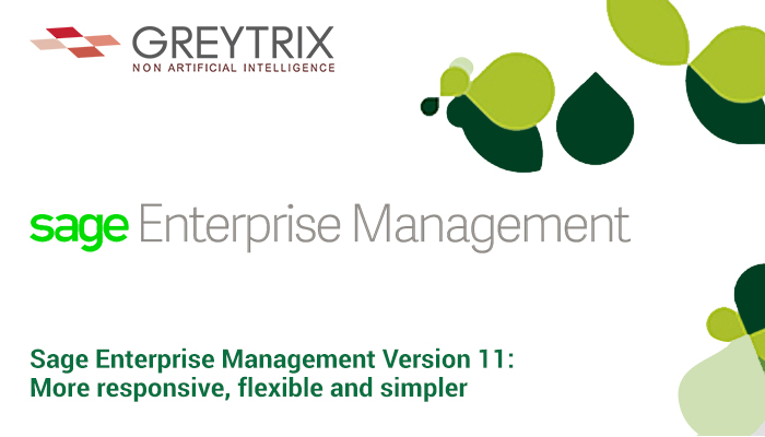 sage enterprise management version 11
